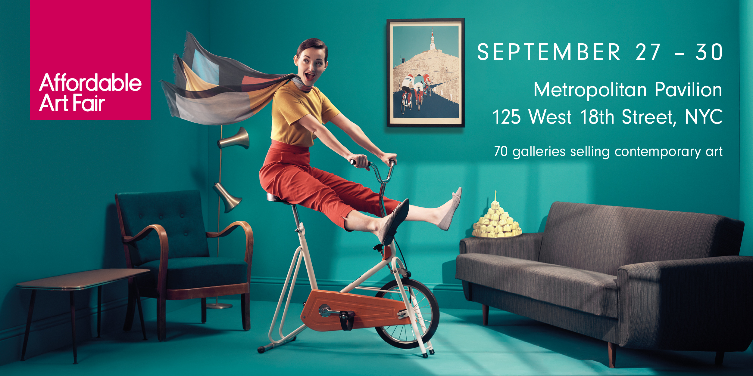 Venderbosch Gallery at Affordable Art Fair New York September 26 – 30